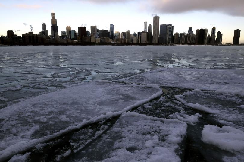 Студът е сковал северните части на Съединените щати от седмици.