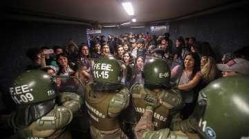 Извънредно положение в столицата на Чили заради протести