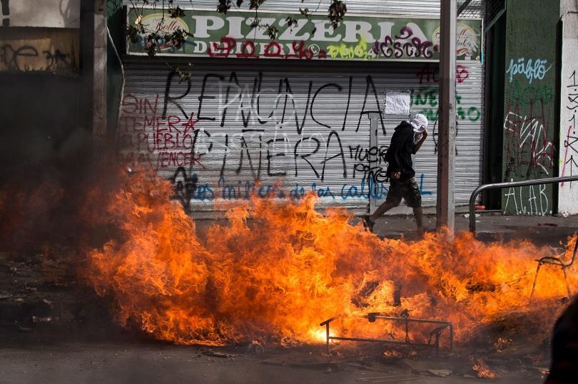 Пореден ден на протести в Чили, където увеличаването на цената