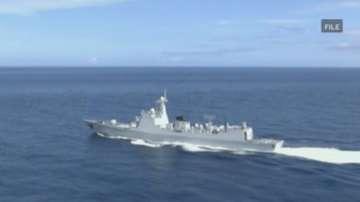 Китайски военни учения преди международния арбитраж за южнокитайско море
