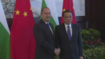 Президентът Радев разговаря с китайския премиер