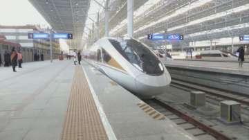 Китай пусна в експлоатация високоскоростна железопътна линия