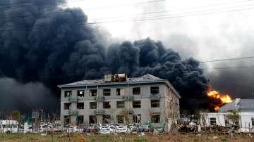 Увеличава се броят на загиналите след експлозията в химически завод в Китай
