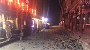 Силно земетресение разтърси Югозападен Китай (ВИДЕО + СНИМКИ)