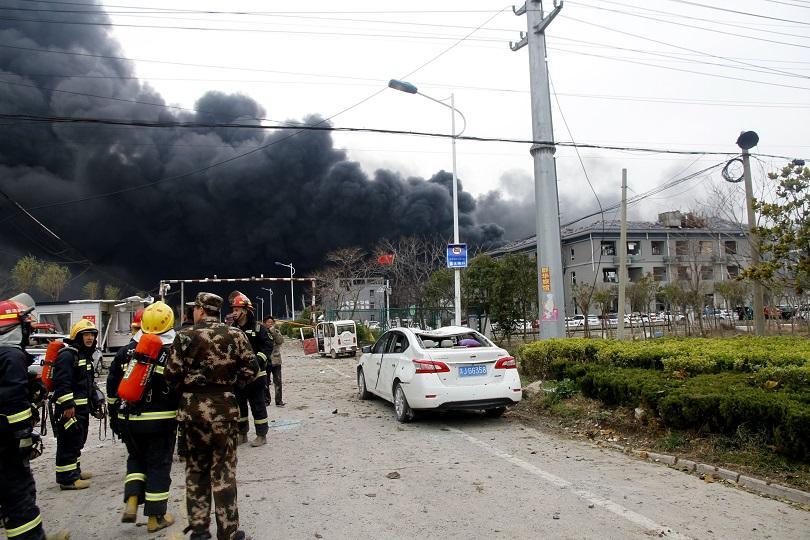 Най-малко 24 огнеборци загинаха при пожар в Югозападен Китай
