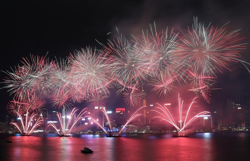 Ето част от празненствата по случай Националния празник на Китай.