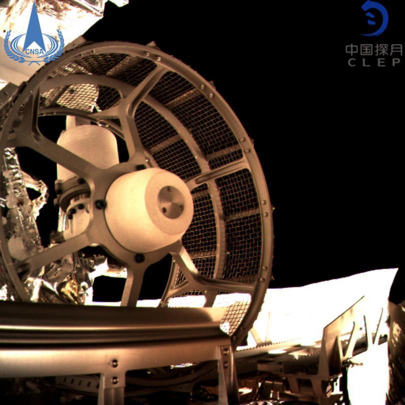 снимка 1 Първи снимки от обратната страна на Луната