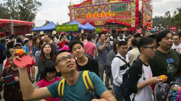 Празненства по случай Китайската нова година в Азия