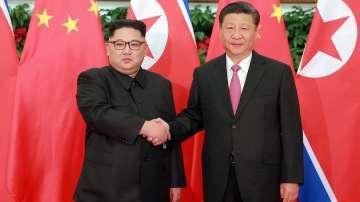 Президентът на Китай е на посещение в Северна Корея