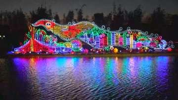 В Кунминг започна фестивалът на фенерите