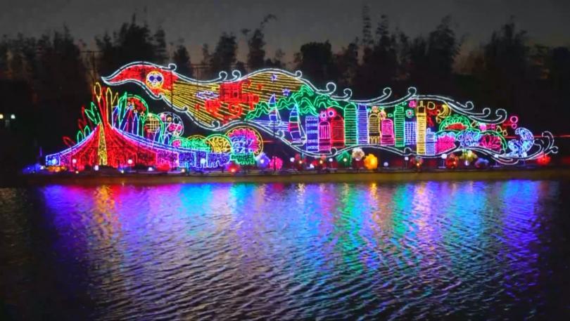 Феерия от светлини, форми и изящество - в китайския град
