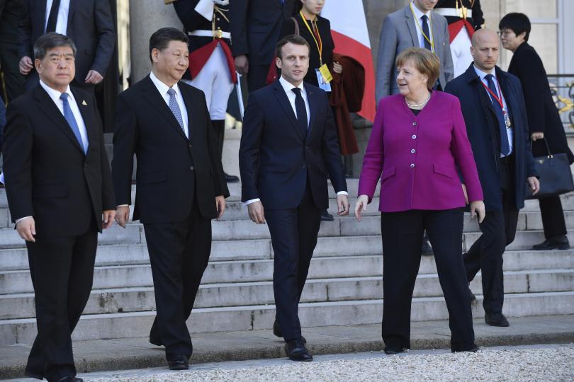 Европа потърси единен подход към Китай на среща в Париж