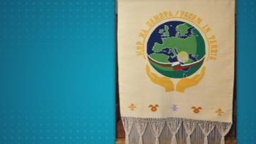В Чипровци представиха паното за подарък на папата