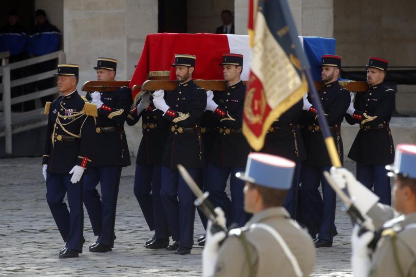 снимка 5 Световни лидери се поклониха пред Жак Ширак