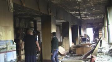 Все още не е започнал ремонт на пострадалото от пожар читалище в село Гложене