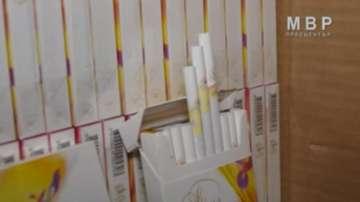 Столични митничари хванаха нелегални цигари за 200 хил. лв.