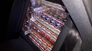 Хванаха над 600 000 къса нелегални цигари на ГКПП Кулата