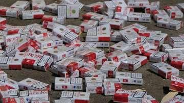 Нова акция срещу контрабандата: Откриха цигари за над 920 хиляди лева в София