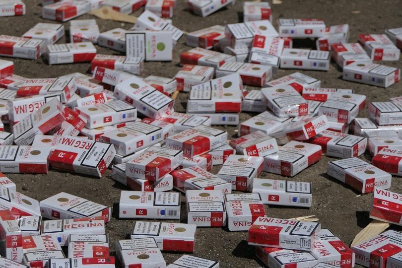 Цигари без бандерол за над 920 хиляди лева откри полицията