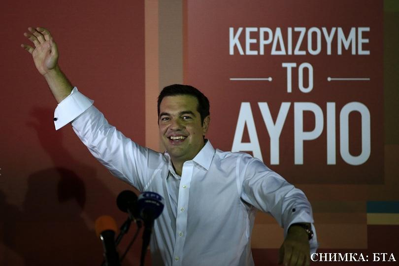 алексис ципрас преизбран лидер сириза