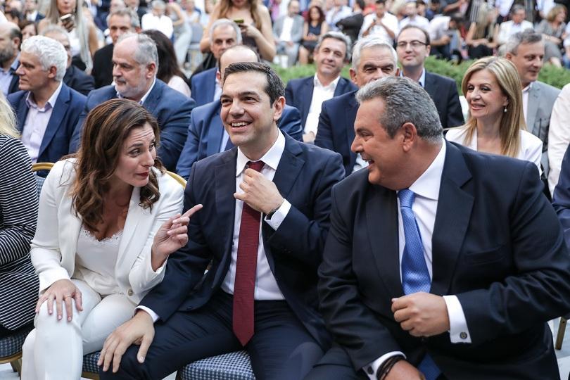 За първи път от встъпването си в длъжност гръцкият премиер