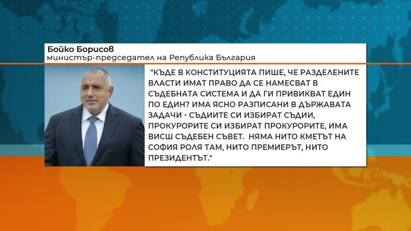 По повод срещите на държавния глава Румен Радев с представители
