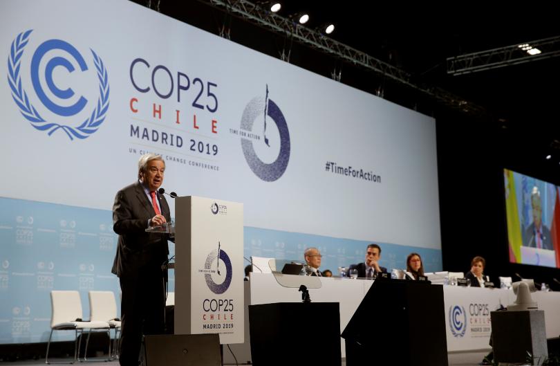 Антониу Гутериш: Човечеството е изправено пред климатична криза