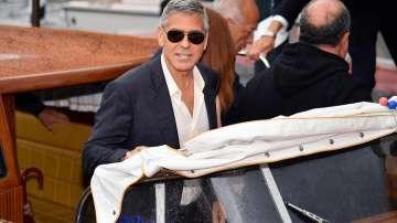 Амал и Джордж Клуни вече са във Венеция