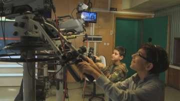В Световния ден на телевизията: Деца от детска кино школа посетиха БНТ