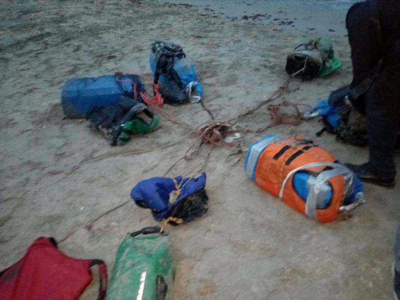Снимка: Още един сак с кокаин изплува от морето край Калиакра