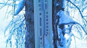 Минус 50 градуса измериха в Русия
