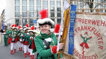 В Германия се проведоха традиционните карнавали преди Великденските пости
