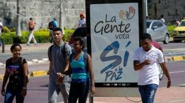 Преди референдума в Колумбия в неделя