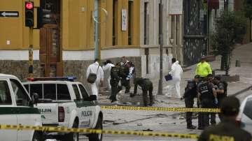 Един убит и 31 ранени при взрив в Колумбия