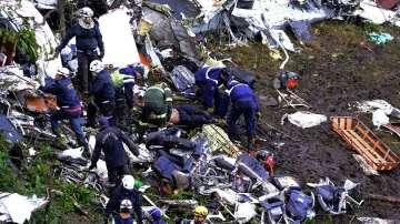 Бразилия в тридневен траур заради самолетната катастрофа с футболния отбор