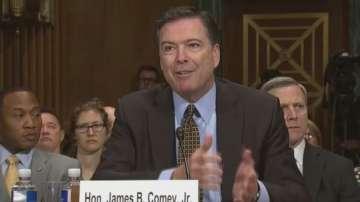 Бившият директор на ФБР Джеймс Коми ще говори пред Сената