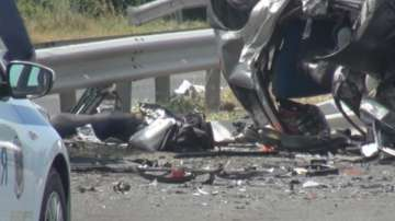 Петима загинаха при жестока катастрофа край Бургас
