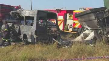 20 души загинаха при катастрофа в ЮАР