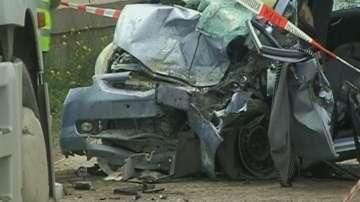 Поредна тежка катастрофа на пътя Русе - Бяла, двама ранени