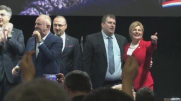 Хърватите избират президент
