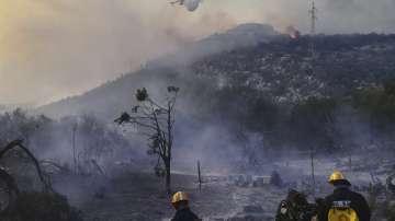Пожари в Хърватия и Черна гора
