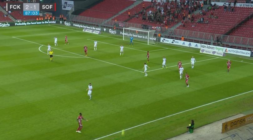 Датският Копенхаген победи ЦСКА-София с 2:1 у дома в реванша