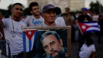 Церемония в памет на Фидел Кастро