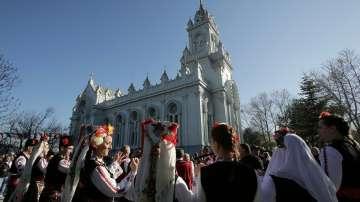 Откриха обновената църква Свети Стефан в Истанбул