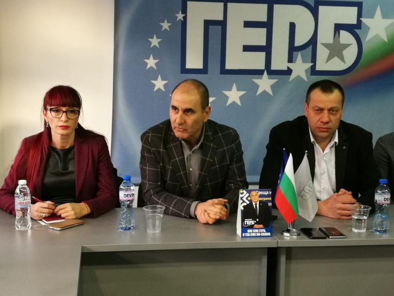 Председателят на Парламентарната група на ГЕРБ Цветан Цветанов заяви, че