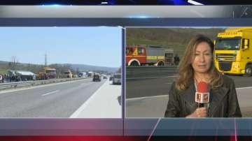 Трагедията на Тракия: Вероятно колата се е врязала в автобуса при изпреварване