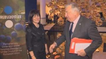 Председателят на НС Цвета Караянчева е на посещение в Талин
