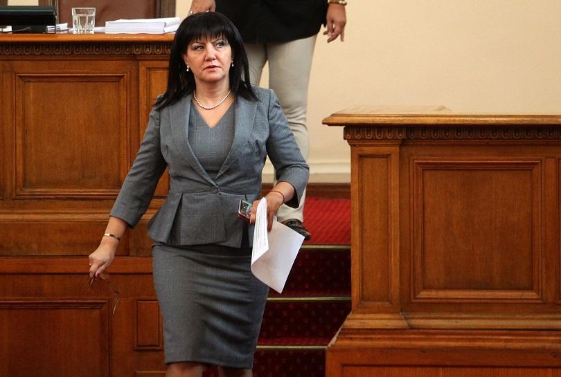 Парламентарна делегация, водена от председателя на Народното събрание Цвета Караянчева,