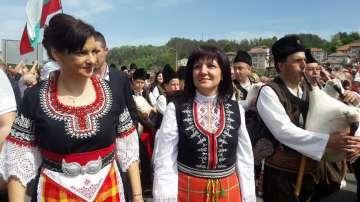 Караянчева: Нека бъдем горди българи, защото България е древна, силна, красива