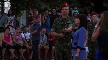 Цвета Караянчева участва в церемонията за празника на Димитровград
